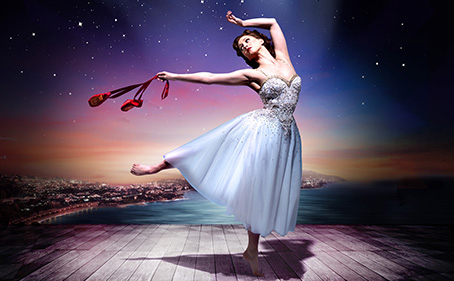 Matthew Bourne's production of The Red Shoes - Sadler's Wells Theatre