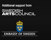 Swedish Arts Council and Embassy