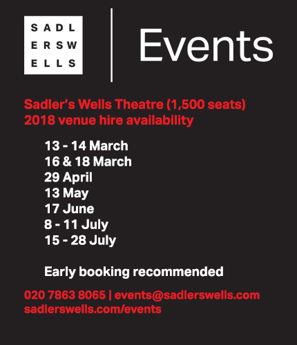 Sadler's Wells Events