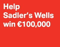 Help Sadler's Wells win €100,000